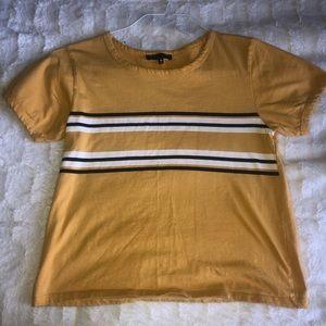 Yellow Striped Tshirt